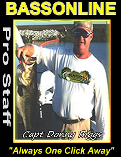central florida fishing guides - Capt Donny Biggs - Lake Okeechobee Guide