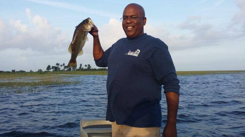 Capt. Jason Young Going after the Largemouth Bass