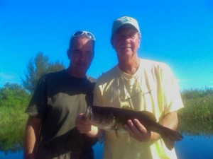 Everglades Bass Fishing Photo