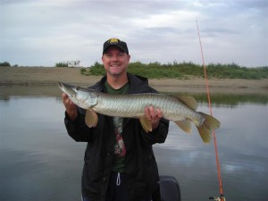 Fred Krause picture UT fishing musky 3