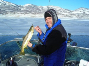 Fred Krause picture UT fishing musky