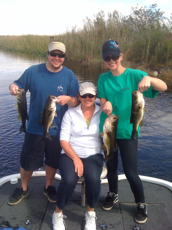 Florida Everglades Bass Fishing