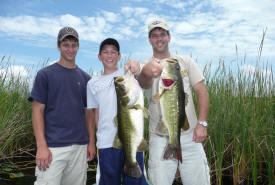 largemouth bass fishing in florida by foot
