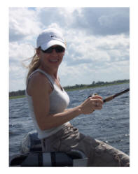 Florida fishing girl, women angler, trophy bass fishing