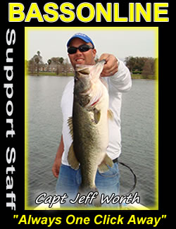 central florida fishing guides -Capt Jeff Worth - Butler Chain & Conway Chain Fishing Guide