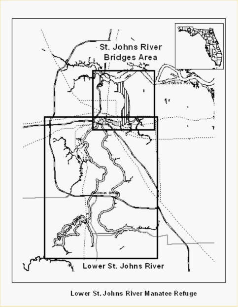 St Johns Map