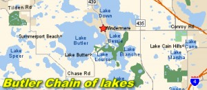 Butler Chain of lakes