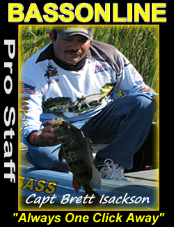 Bass Fishing Guides - Captain Brett Isackson