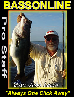 Bass Fishing Guide Captain John Leech