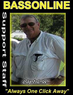 central florida fishing guides -Capt L.W.- Kissimmee Chain, Walk on Water, Winter Haven Fishing Guide