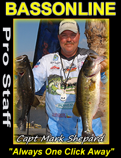 Bass Fishing Guide Captain mark Shepard