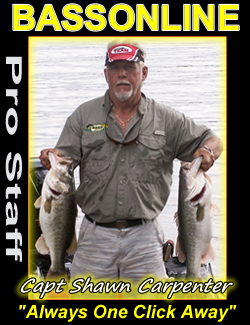 Bass Fishing Guide Captain Shawn Carpenter