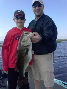 Jason Kitzmiller and his son Owen w. Tony Summers 3.20 3