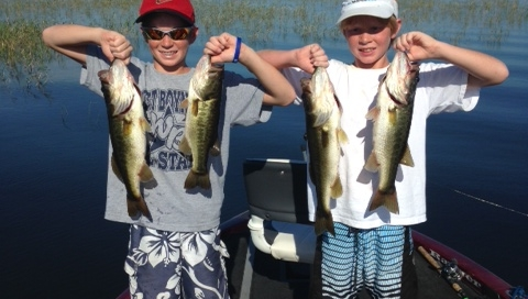 Lake Okeechobee Fishing in July 2014