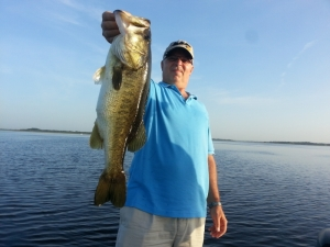 Quick Report on Lake Toho for the Day