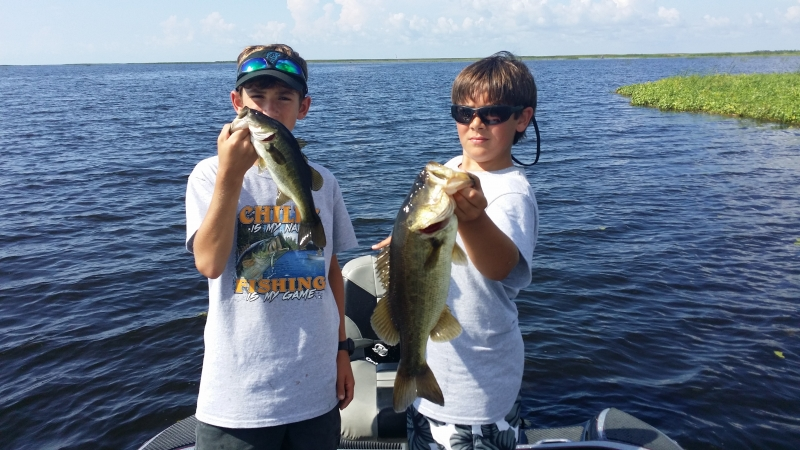 Fished the North End of Lake Okeechobee