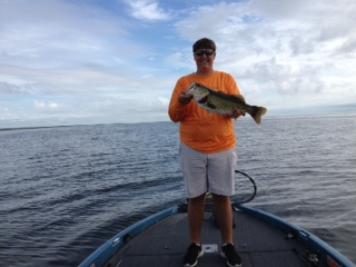 south florida fishing with CAPT Roger