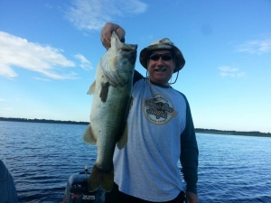 Phil Powers out Fishing with Capt John Leech