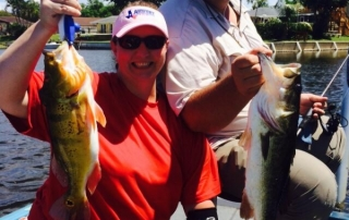 Peacock Bass Fishing with Ross and Wendy Bass
