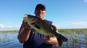 Lake Okeechobee fishing with Jeff from North of Tampa