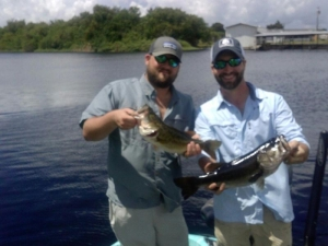 Okeechobee Fishing around Kings Bar