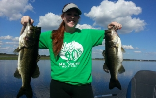 """It was """"Simply Her Day"""" Today on Lake Toho"""