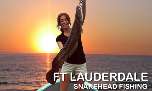 Fort Lauderdale Snakehead Fishing