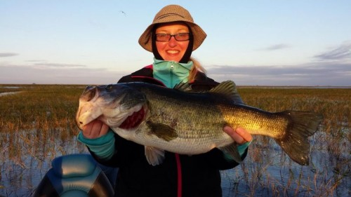 Linda Ioves bass fishing!