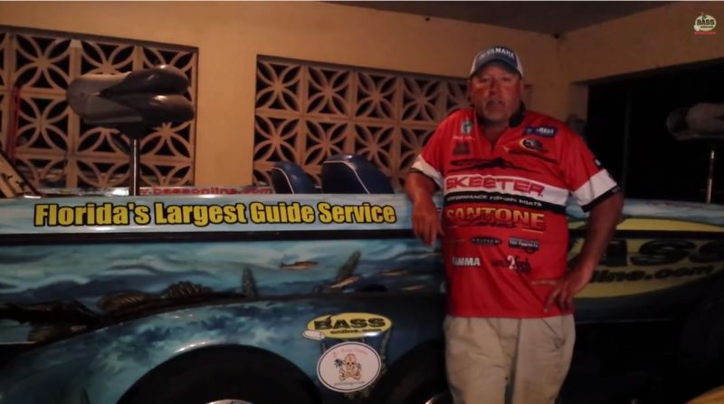 Elite Pro Fishing Matt Herren billigt BassOnline.com