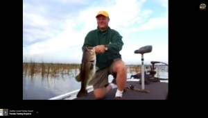 Video of Customer with Lake Okeechobee Kicker