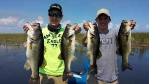 Really good anglers, tournament anglers!