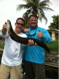 Happy Snakehead Fishermen
