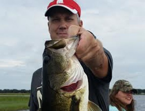 Lake Toho Front coming in makes for Hot Fishing.