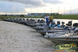 Homestead Speedway BassOnline Fishing Team