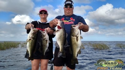 Florida Bass Fishing report Lake Okeechobee