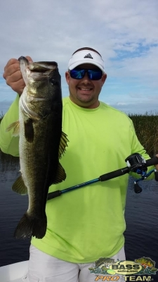 Lake okeechobee bass Fishing report