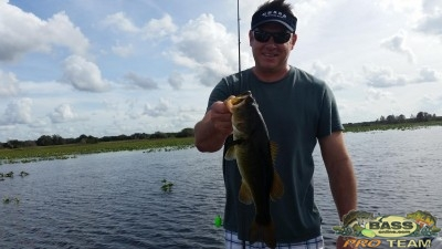 Lake Toho Fresh water bass fishing report