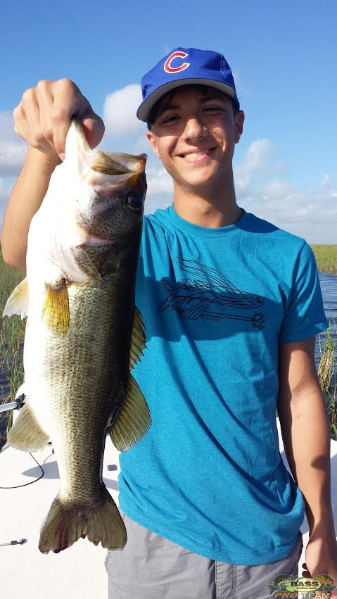 Lake Okeechobee Florida Bass fishing report