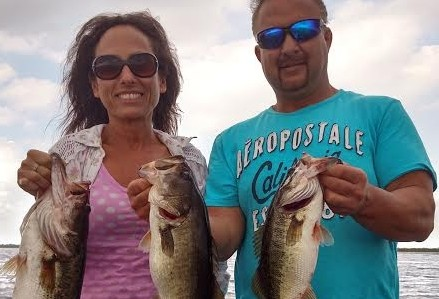 lake Okeechobee Largemouth Bass charters