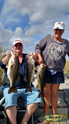 Lake Okeechobee Largemouth Bass Fishing Captain Brian