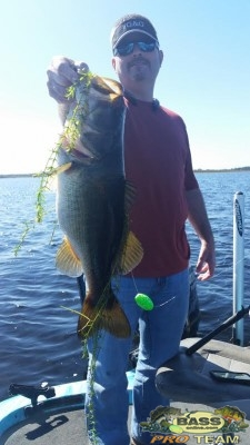 Lake Toho Largemouth Bass Fishing Capt John Leech