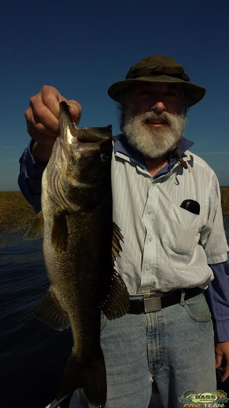 Largemouth Bass Lake Okeechobee Guide Capt Mark Shepard