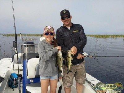 Lake Okeechobee Bass Fishing Guide Capt Mark Rogers
