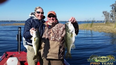 Osceola County Bass Fishing Guide Capt John Leech