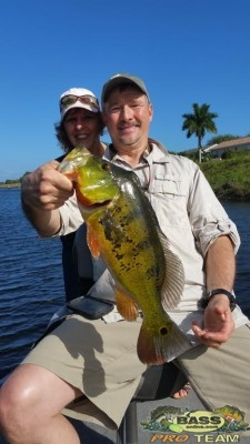 Palm Beach Peacock Bass Fishing Capt Robert Miley