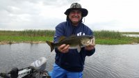 Great MLK Day Largemouth Bass Fishing Lake Okeechobee