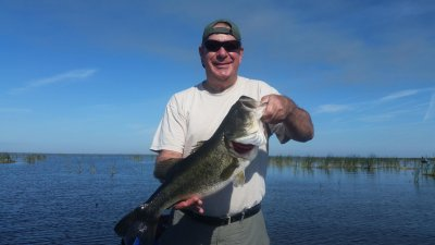 Slims Fish Camp Belle Glade Lake Okeechobee Largemouth Bass Fishing