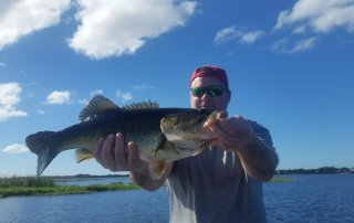 Beautiful Day Lake Toho Bass Fishing Central Florida