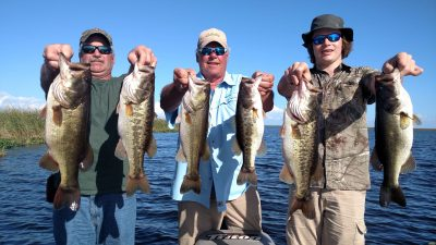 We were on the West side of Lake Okeechobee today Ron Powers